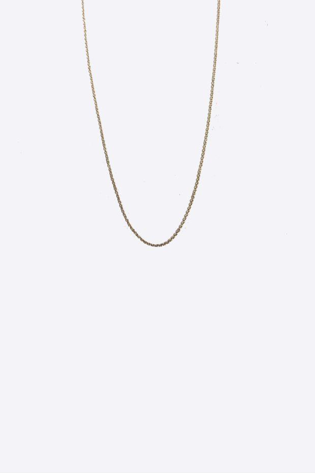 5 Octobre Collier Chaine 43cm - Or 14k