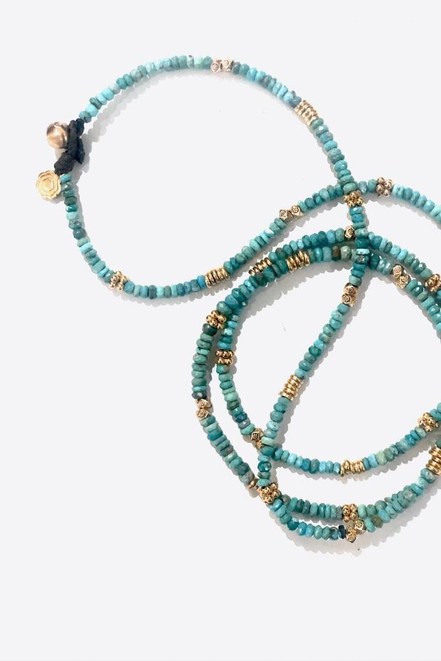Bohemian Rhapsodie Collier BAHAMAS - Turquoise