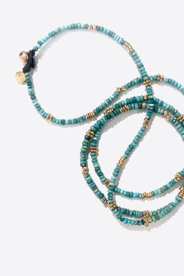 Bohemian Rhapsodie Collier BAHAMAS - Turquoise