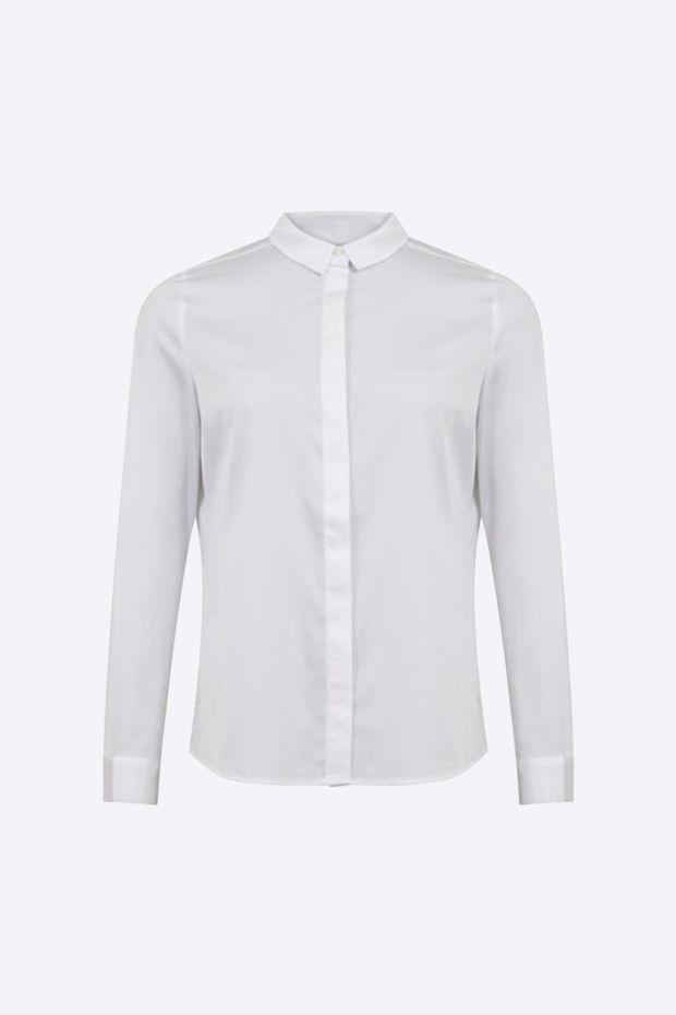 Coster Copenhagen Chemise CC Heart Classic Shirt - White