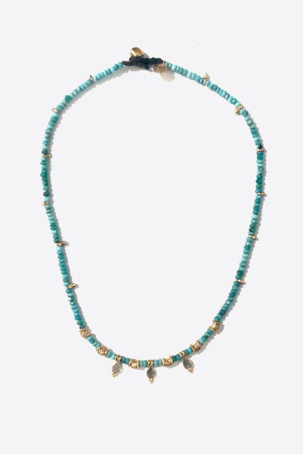 Bohemian Rhapsodie Collier LULA - Turquoise