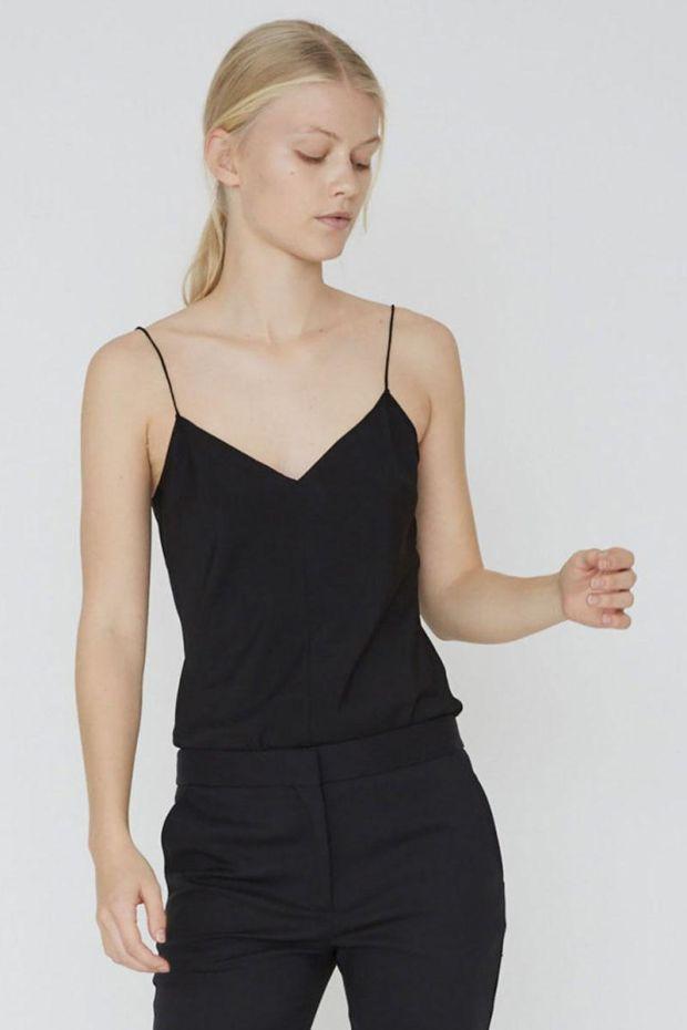 Designers Remix Top Valerie Camisole - Black