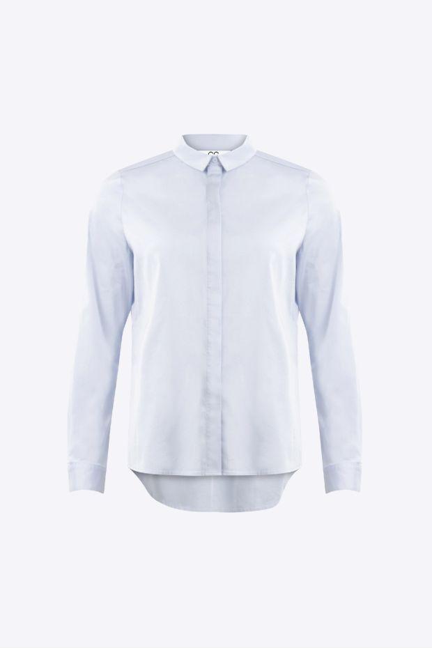 Coster Copenhagen Chemise CC Heart Classic Shirt - Oxford Blue