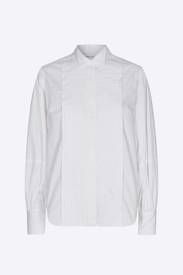 Designers Remix Chemise Andrew Sleeve Shirt - White