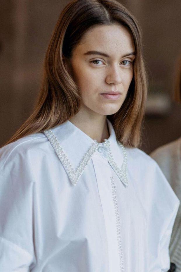 Designers Remix Chemise Andrew Pearl Shirt - White