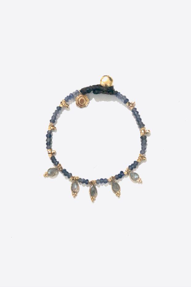 Bohemian Rhapsodie Bracelet LILA - Iolite
