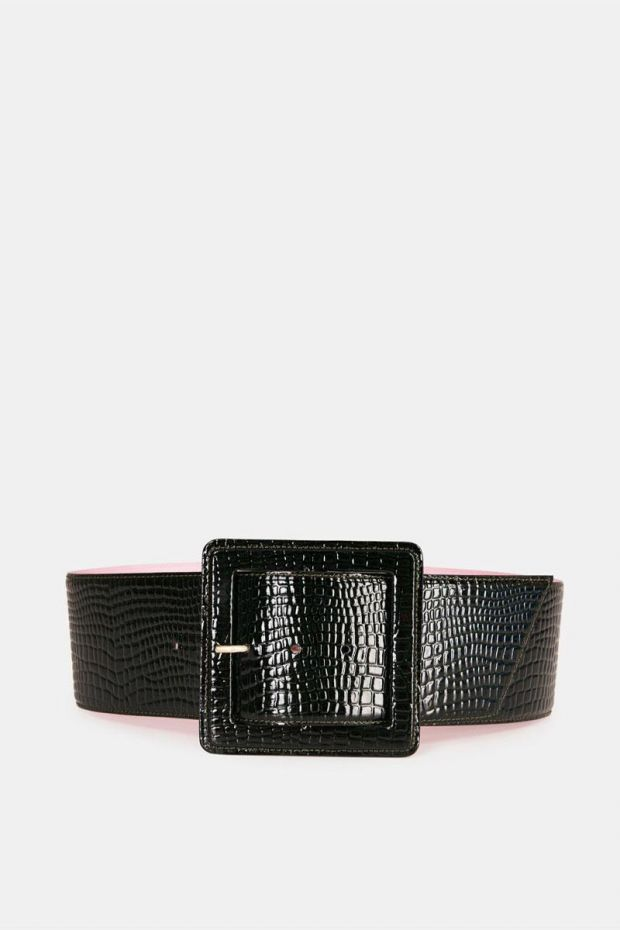 Essentiel Antwerp Ceinture WAVAGE Belt - Palace Green