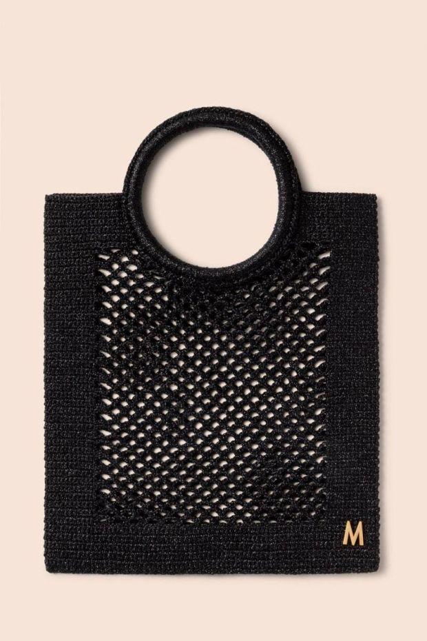 MIZELE Sac SUNBATH Lurex - Medium Black