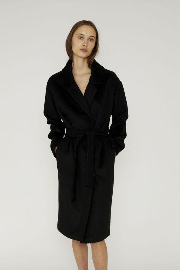 Designers Remix Manteau JULIE Long - Black