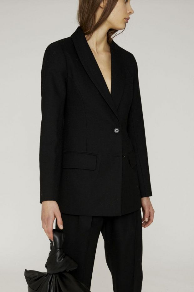 Designers Remix Blazer DALLAS Tuxedo - Black