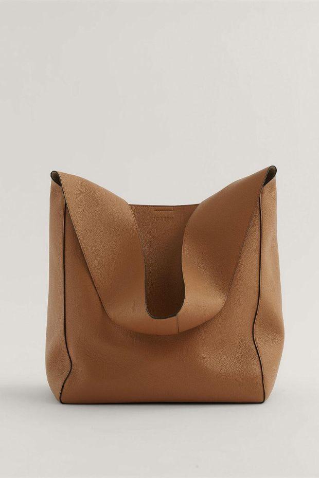 Joseph Sac Slouch XL - Grain Leather Cognac