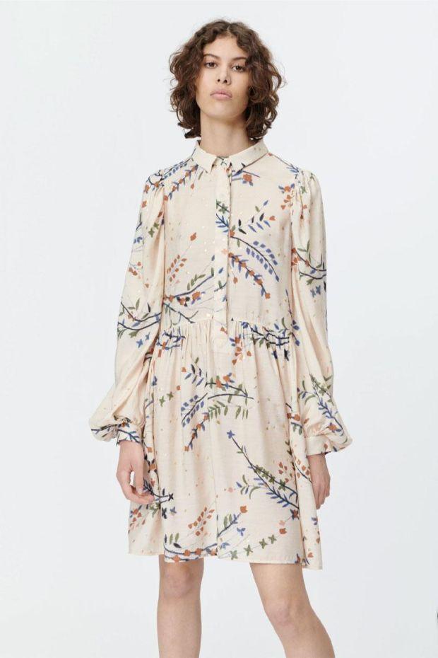 MUNTHE Robe SOFIA Dress - Ivory