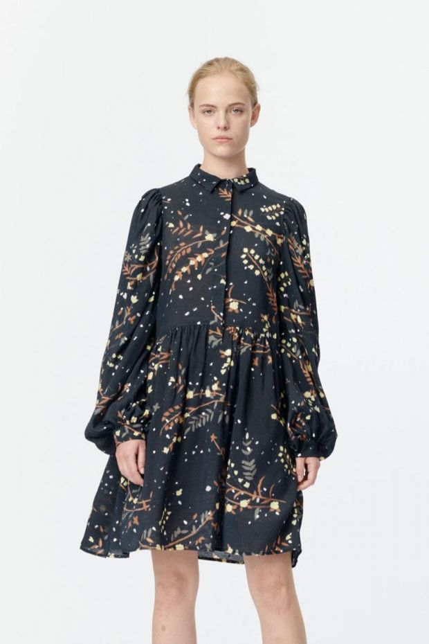 MUNTHE Robe SOFIA Dress - Black