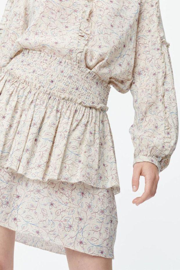 MUNTHE Jupe SAIDA Skirt - Ivory