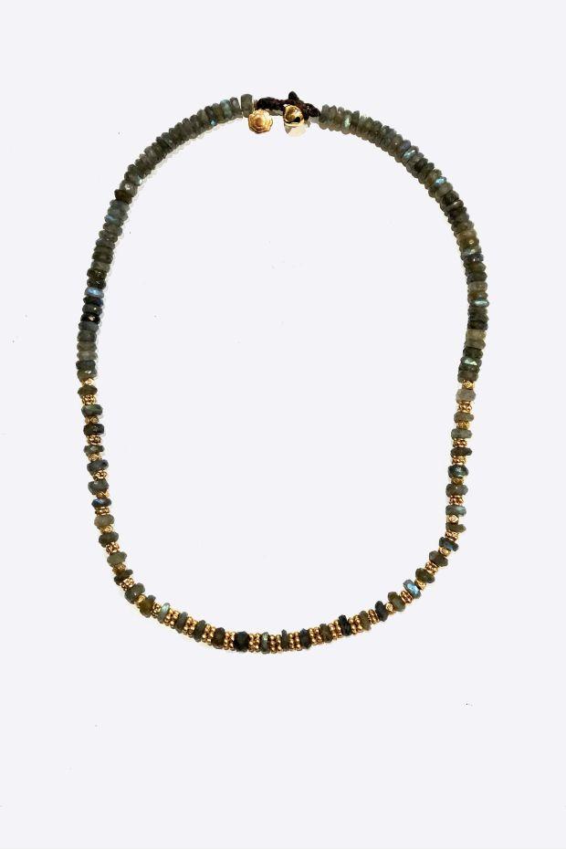 Bohemian Rhapsodie Collier IRMA - Labradorite