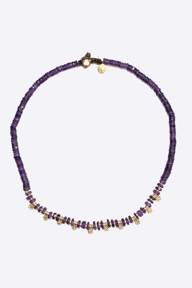 Bohemian Rhapsodie Collier Violetta - Amethyste