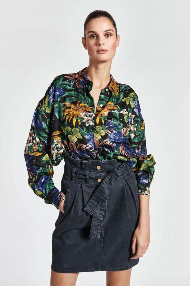 Essentiel Antwerp Blouse ZEEN Oversized Shirt - Combo Black