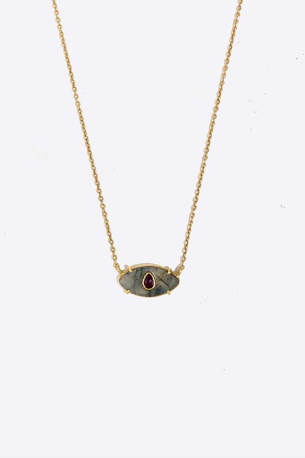 Bohemian Rhapsodie Collier AYIN - Labradorite