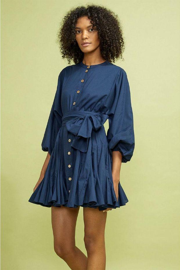RHODE Robe EMMA Dress - Navy