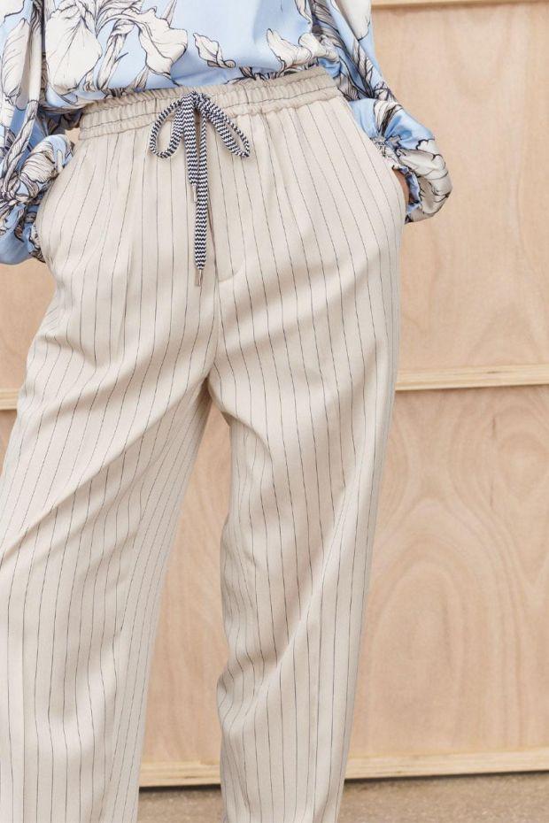 MUNTHE Pantalon TOKAT - Ivory