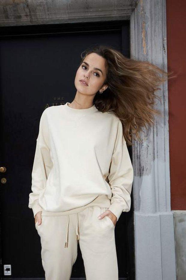 Coster Copenhagen CC Heart Oversize Sweatshirt - Vanilla