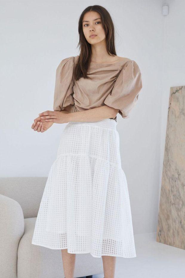 Designers Remix Jupe MOLISE Skirt - Cream