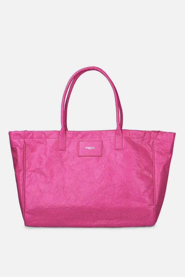 Essentiel Antwerp Sac Zeacon XL Paper Shopper - Super Pink