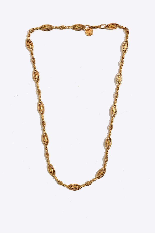 Bohemian Rhapsodie Collier ALLEGRINA - Argent plaqué Or 5 Microns