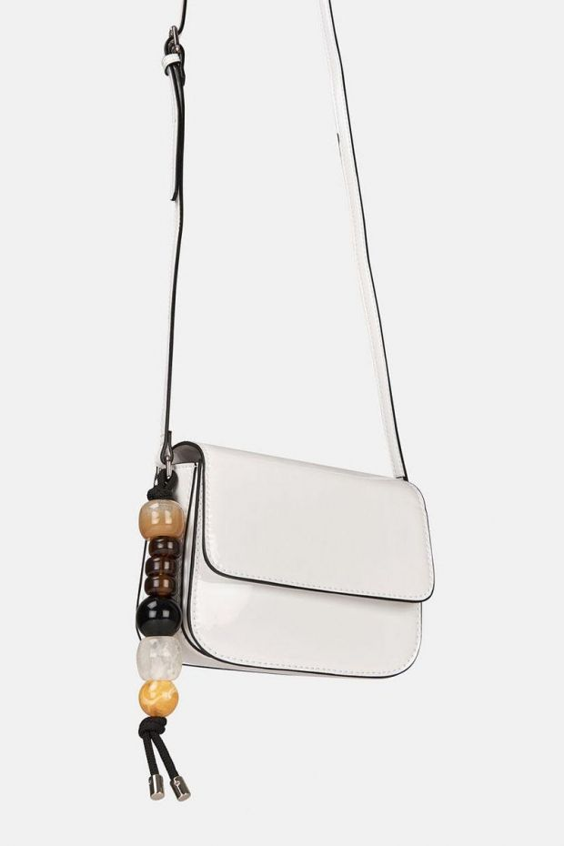 Essentiel Antwerp Petit Sac ZONEYBEE Small Purse - Off White