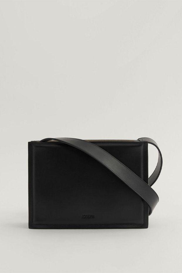 Joseph Sac TRIPLE BAG Leather - Black