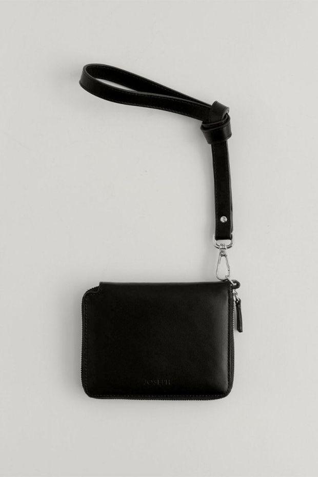 Joseph Portefeuille PM2 Leather - Black