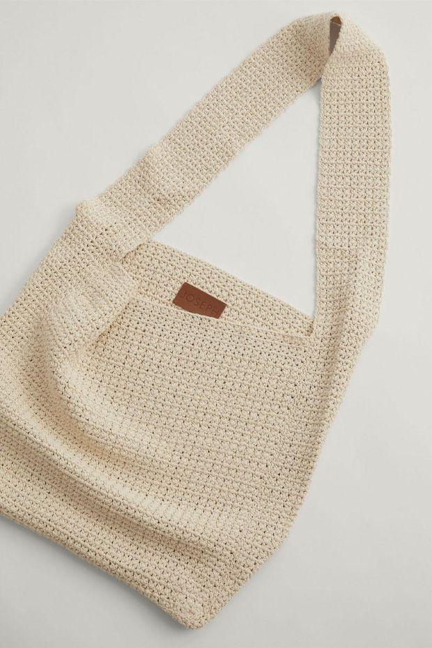 Joseph Sac Hand Crochet CRISPY - Porcelain