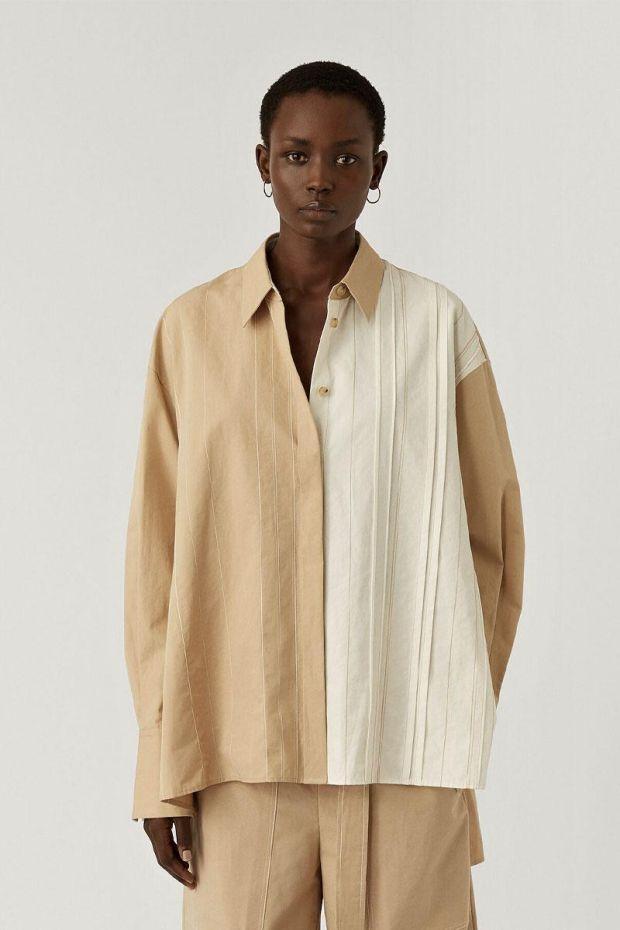 Joseph Blouse BACAR Cotton - LinnenOff White