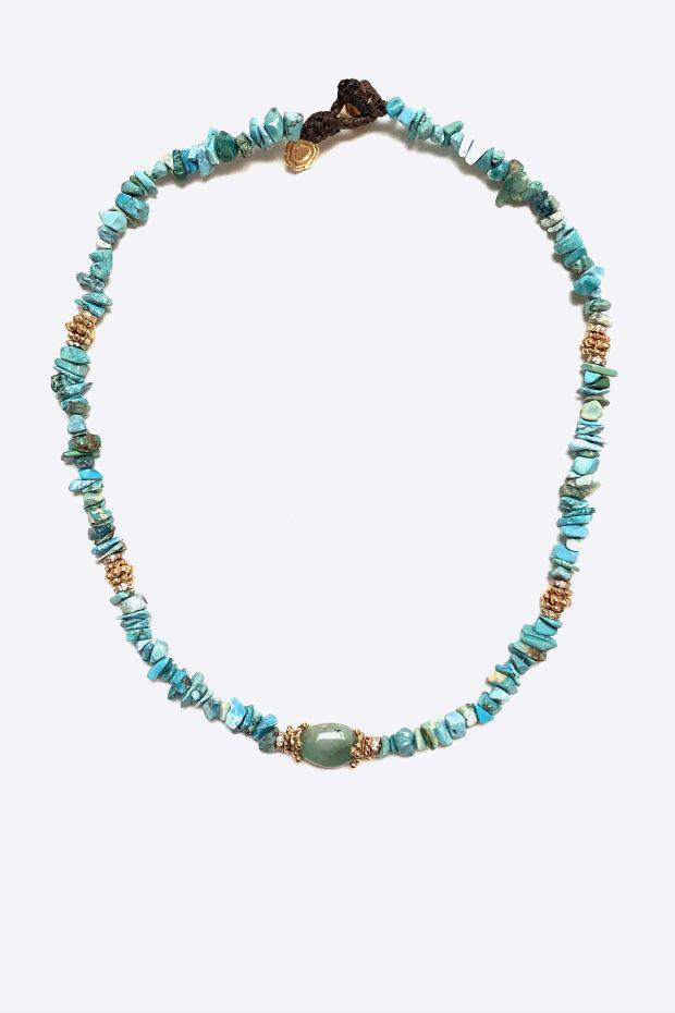 Bohemian Rhapsodie Collier LINOSA - Turquoise