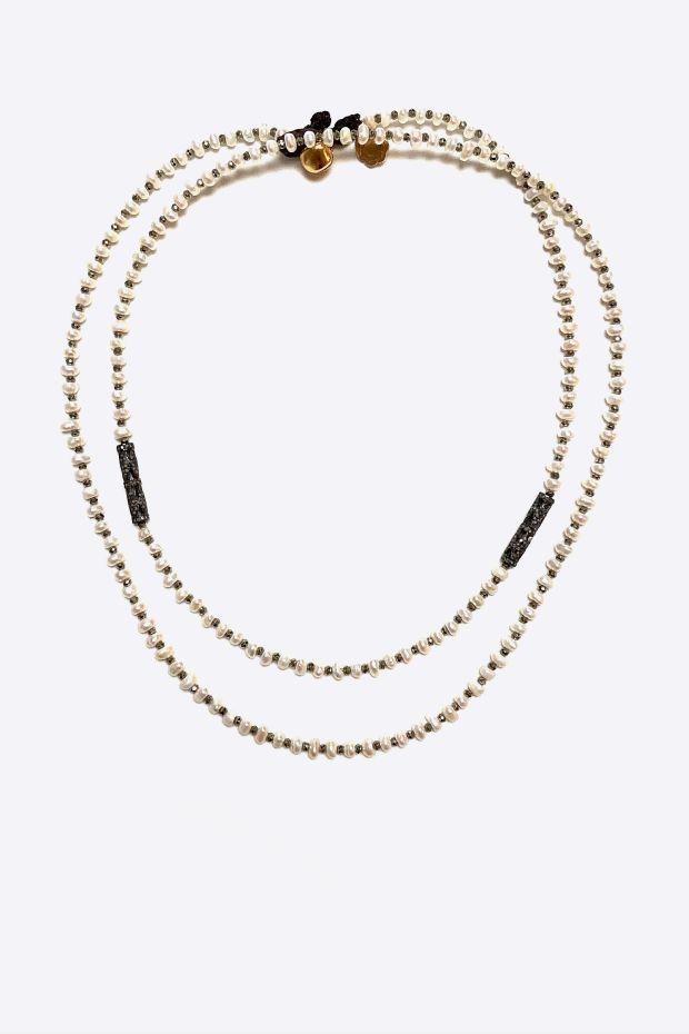 Bohemian Rhapsodie CollierBracelet PERLA - Perles d'eau fines