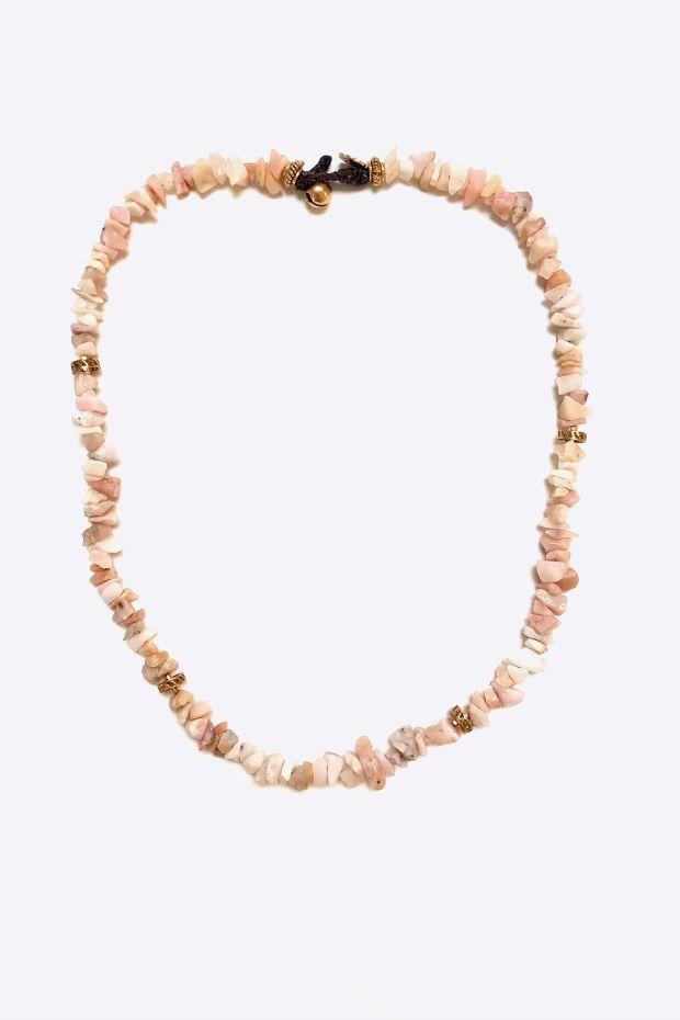 Bohemian Rhapsodie Collier ISOLA - Opale Rose