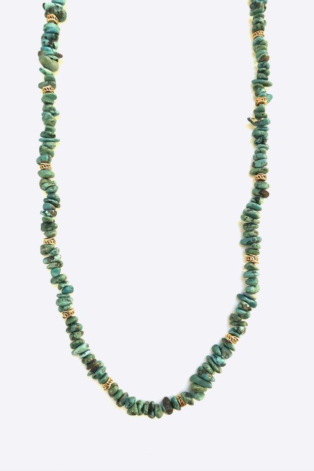 Bohemian Rhapsodie Sautoir MOZIA - Turquoise