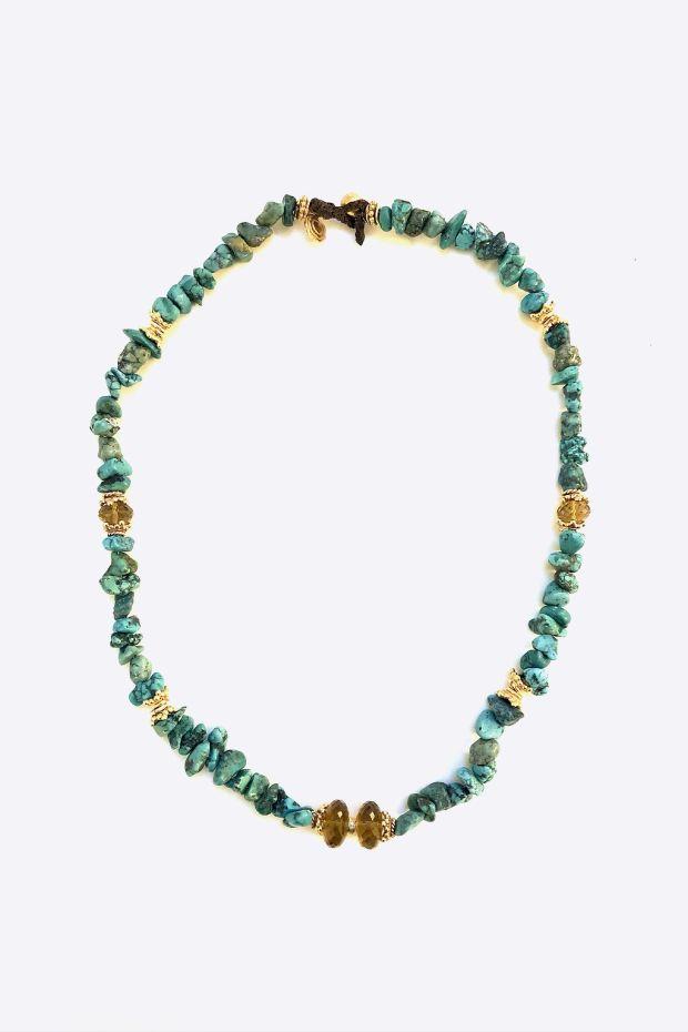Bohemian Rhapsodie Collier PANTELLERIA - Turquoise