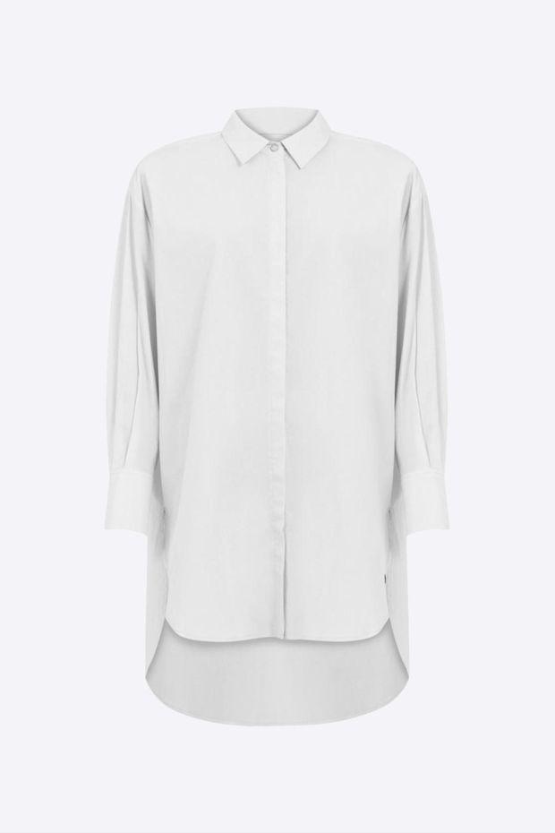 Coster Copenhagen Chemise Oversized Oxford Shirt - White