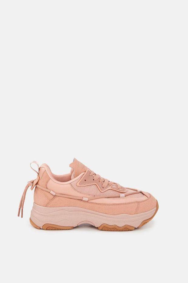 Essentiel Antwerp AFTERPARTY Sneakers - Rose Gold