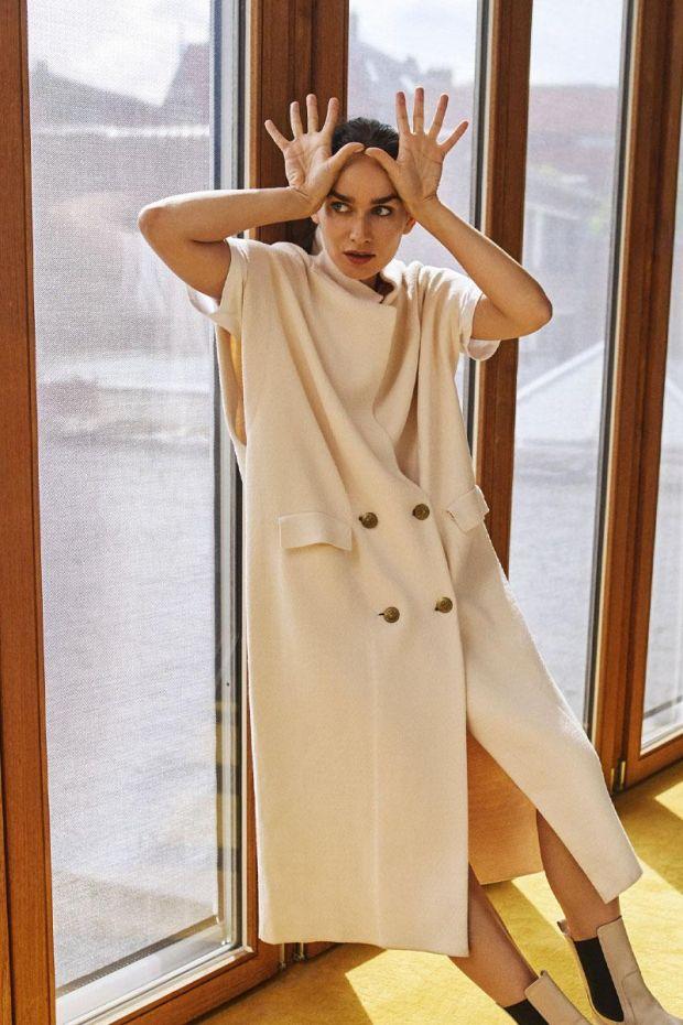 Essentiel Antwerp Gilet APRINCESS Cardigan - Off White