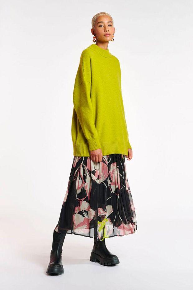 Essentiel Antwerp Jupe ARDEN Skirt - Combo Black