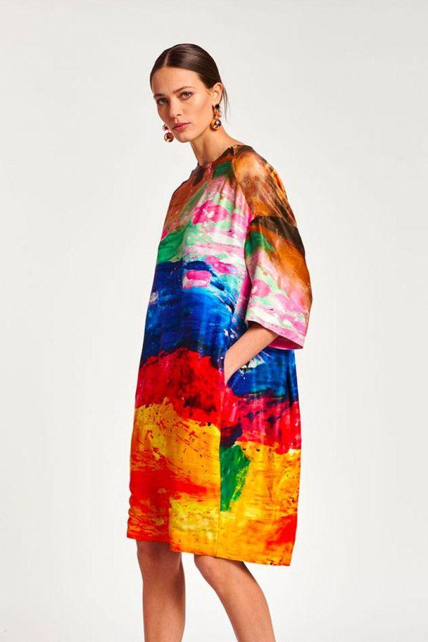 Essentiel Antwerp Robe AMBASSADOR T-Shirt Dress - Dromedaris