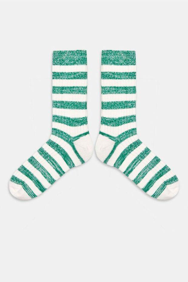 Essentiel Antwerp Chaussettes AGASSI Sporty Socks - White