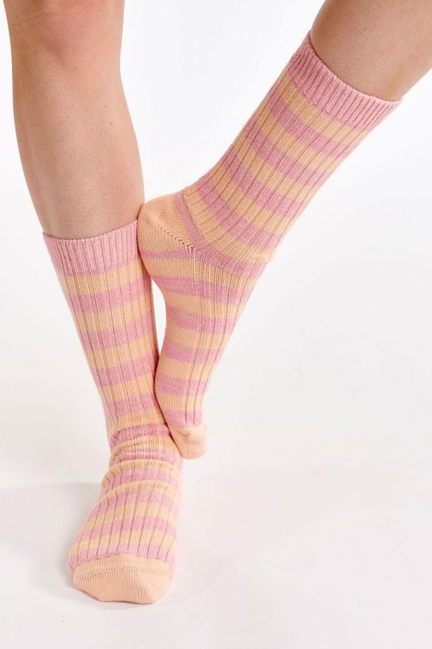Essentiel Antwerp Chaussettes AGASSI Sporty Socks - Rose Gold