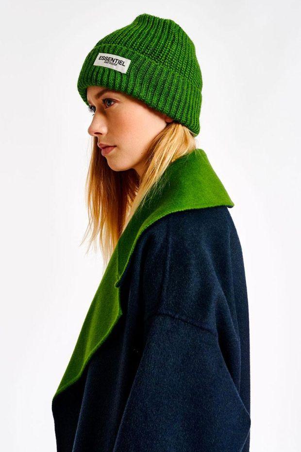 Essentiel Antwerp Bonnet ARTIGAS - Anti Green