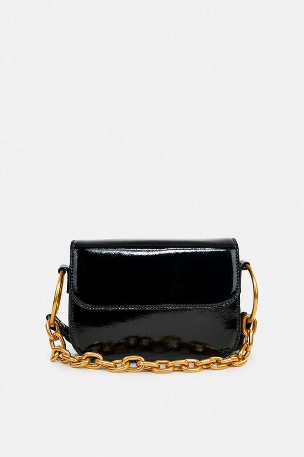 Essentiel Antwerp Sac AMBROSIA Shoulder Bag - Black