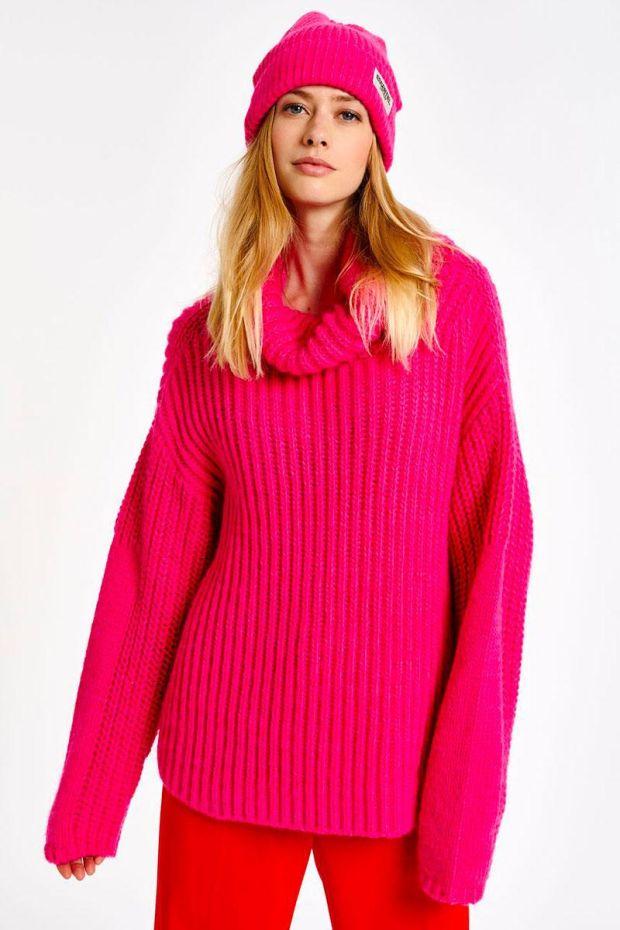 Essentiel Antwerp Pull ANJOU English Ribs Sweater - Monsters Inc