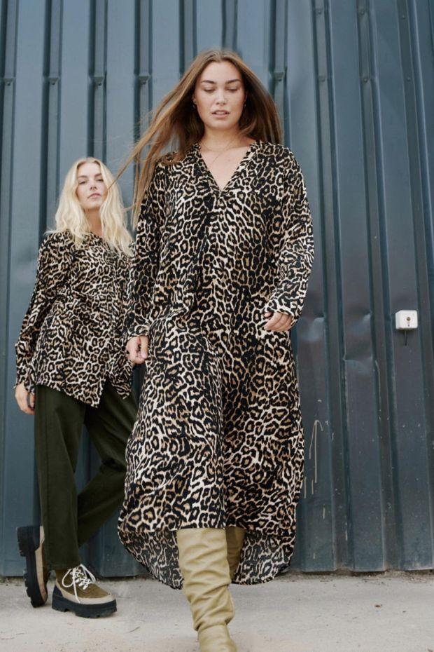 Coster Copenhagen Dress in Leopard Print