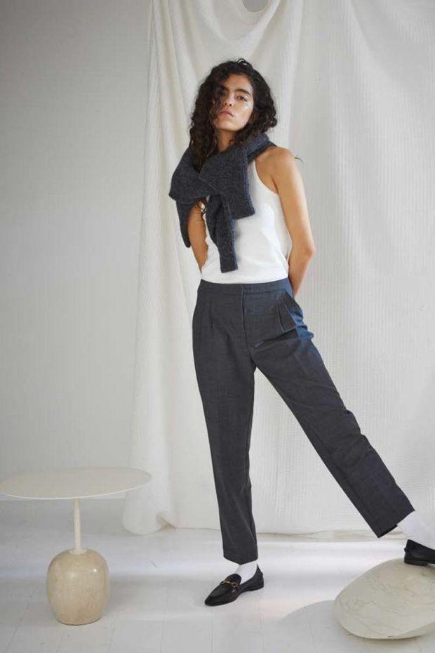 Designers Remix TORINO Pants - Grey Check